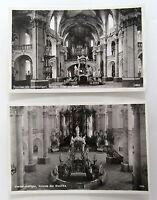 2x alte AK Basilika Kirche Vierzehnheiligen bei Gößweinstein Bayern ~1930/40