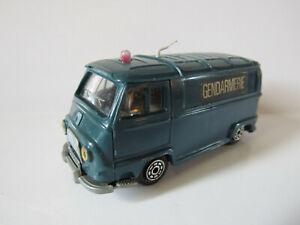 Les Miniatures de Norev Estafette Renault Gendarmerie