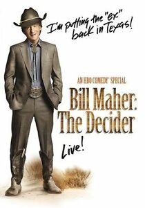 Bill Maher: The Decider (Bill Maher) - Region Free DVD - Sealed