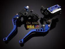 """7/8"""" Brake Clutch lever Master Cylinder Kit Reservoir Universal Suzuki Kawasaki"""
