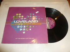 """LOVELAND feat the voice of RACHEL MCFARLANE - Let the Music (Lift you up) - 12"""""""