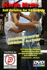 """EASY SELF DEFENSE at 50 & Up"" Complete Krav Maga 4 DVD Set."