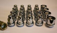 M12 X 1.5 VARIABLE WOBBLY ALLOY WHEEL NUTS & LOCKS MITSUBISHI GRANDIS OUTLANDER