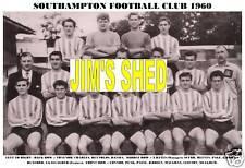 SOUTHAMPTON F.C.TEAM PRINT 1960 (PAINE/REEVES/PAGE)