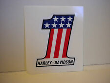 Classic 1970's  Harley-Davidson  # One Decal