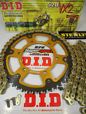 ZX6R RR ZX636 NINJA '05-06 SUPERSPROX DID  QUICK ACCEL CHAIN AND SPROCKETS KIT