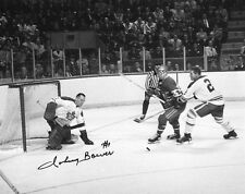 JOHNNY BOWER TORONTO MAPLE LEAFS SIGNED PHOTO w/ COA