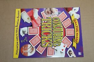 Book for Amazing Magic Card Tricks Conjuring Tricks To Learn And Perform