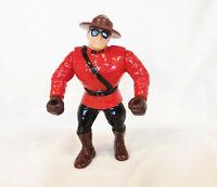The Mountie Action Figure Wrestling WWF WWE toy Hasbro