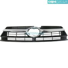 NEW GRILLE GRAY WITH CHROME MOLDING FITS 2014-2016 TOYOTA HIGHLANDER TO1200371C
