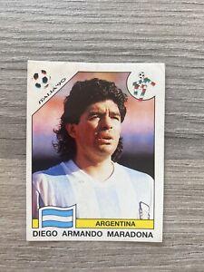 Panini Italia 90 World Cup Sticker Diego Armando Maradona Argentina No. 128