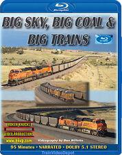 Big Sky, Big Coal & Big Trains BLU-RAY Wyoming's Powder River BNSF UP Orin Sub