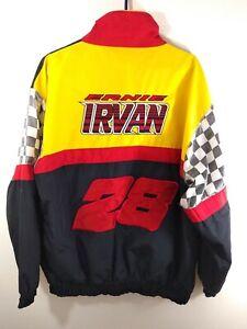 Vintage Ernie Irvan RVR jacket Sz XXL Texaco Havoline Racing by JEBCo Sportswear