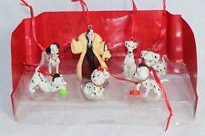 Disney 101 Dalmatians 7 Custom Ornaments Figure Set Cruella Pongo Perdita Lucky