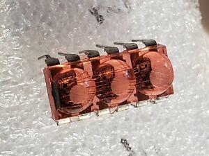 Hewlett-Packard HP 5082-7433 Triple Seven Segment LED Display Bubble Lens USA B