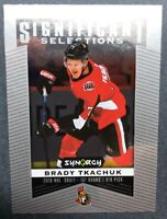 2018-19 Upper Deck Synergy Hockey Significant Selections #13 Brady Tkachuk RC