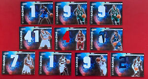 2010-11 Absolute Lot of 10 Star Gazing Jumbo Jersey /10 Or  /25 Dirk, Chris Bosh
