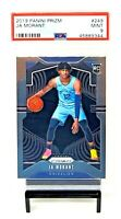 2019 Prizm Memphis Grizzlies RC Star JA MORANT Rookie Basketball Card PSA 9 MINT
