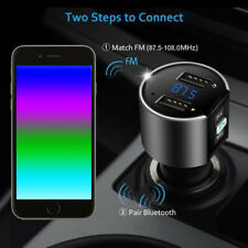Bluetooth Car USB Charger FM Transmitter Wireless Radio Adapter MP3 Playe GDL