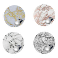 Marble Round Mouse Pad Gaming Mice Mat For Laptop Notebook Computer PC Non-Slip