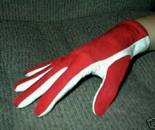 Free Ship! Scuba Diving Snorkeling Gloves Light weight Warm Water Red/White Gear