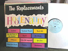 the REPLACEMENTS HOOTENANNY TWIN TONE Lp orig 1983 vinyl blue label MASTERDISK!!