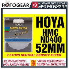 Genuine HOYA HMC ND400 Netural Density NDx400 Multi-Coated 52mm Filter AUSPOST