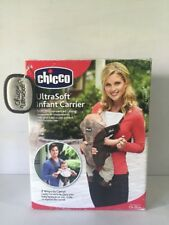 Chicco 2 Way Ultra Soft Infant Baby Carrier Brown 7.5 - 25lbs.