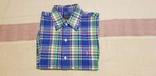 Ralph Lauren POLO Long Sleeve Plaid multi colour Shirt Men Casual Wear SMALL
