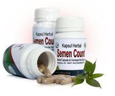 Semen Count herbal capsule increase sperm count, fertility,sexual arousal
