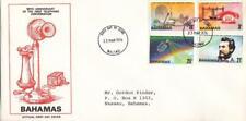 1976, Bahamas: 100th Anniv. 1st Telephone Conversation, FDC, Lg Cover (E8522)