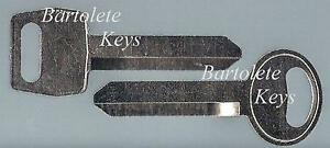 Replacement Key Blank For Ford Mustang Bronco II Tempo Thunderbird Mercury Topaz