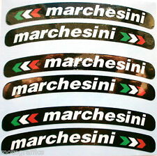 Marchesini Laminated Wheel Rim Logo Sticker Decal x 10 Ducati Aprilia