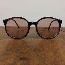 5e15e21701ca Vintage Round Circle Blue Tortoise 80s 90s Eyeglasses Frames Surf Papagallo
