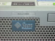 Sun Netra T2000 602-4260 1.0GHz CPU 4 CORE 8GB mem, 2*73GB SAS  DVD, 2 * AC P.S