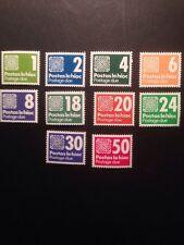 Ireland 1980 Postage Due Set SG d25/34 Mint Lightly Hinged.