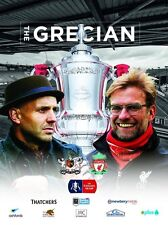 EXETER CITY v LIVERPOOL 2015/16 F A CUP MINT PROGRAMME 2016