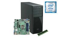 4U Intel Pedestal server Xeon E3-1230 v6, 16GB DDR4 365w psu S1200SPSR NO HDD