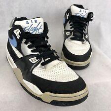 Nike Air Flight 89 A 2007 Sneakers Size 8.5 White University Blue 315793-142