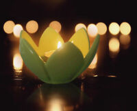 Tea Light Candle Holder Decoration Lotus Flower Tealight Wedding Party