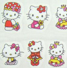 Nail Art Water Transfer Sticker Princess Hello Kitty in Bathrobe 20 pcs/sheet