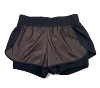 Fabletics Demi Lovato Women's XS XSMALL Afina Athletic Shorts Mauve Black
