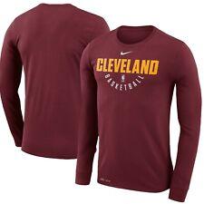 Nike NBA Cleveland Cavs Dri-fit Long Sleeve Men's T Shirt XL S