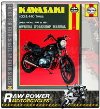 Kawasaki 400 & 440 Twins (74 - 81)  Haynes Manual (0281)