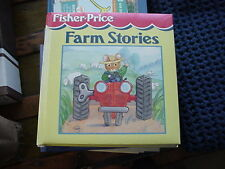 2000 FISHER PRICE FARM STORIES HB BOOK 320 PAGES 37 DIFF STORIES