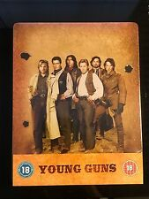 Young Guns Blu-Ray Steelbook Region B [UK] Sealed Western Action Debossed