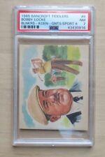 1965 Bancroft Tiddlers #8 Bobby Locke HOF PSA 7 NM - ONLY 3 higher RARE