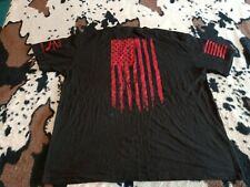 New listing Authentic Grunt Style, LIBERTY BELL, FLAG DOUBLE SIDED, T-SHIRT, Large Black