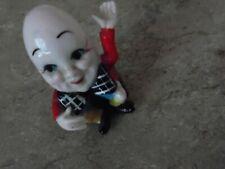 Vint. nursery rhyme figurine~Hi Style Bone China by Bridge~Humpty Dumpty~Japan