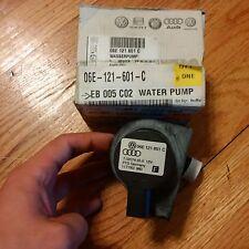 Genuine Factory Audi OEM Part - Aux pump- Water Pump - WATER PUMP  06E-121-601-C